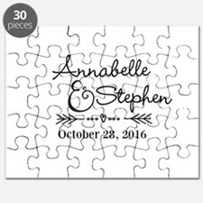 Couples Names Wedding Personalized Puzzle