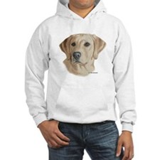 Young Yellow Lab Hoodie