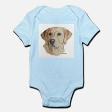 Young Yellow Lab Infant Creeper
