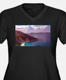 Stop, Look, and Listen Plus Size T-Shirt