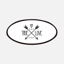 Personalized True Love Arrows Patch