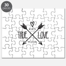 Personalized True Love Arrows Puzzle