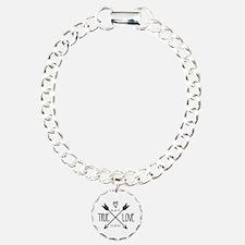 Personalized True Love Arrows Bracelet