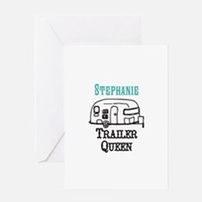 Custom Trailer Queen Greeting Cards