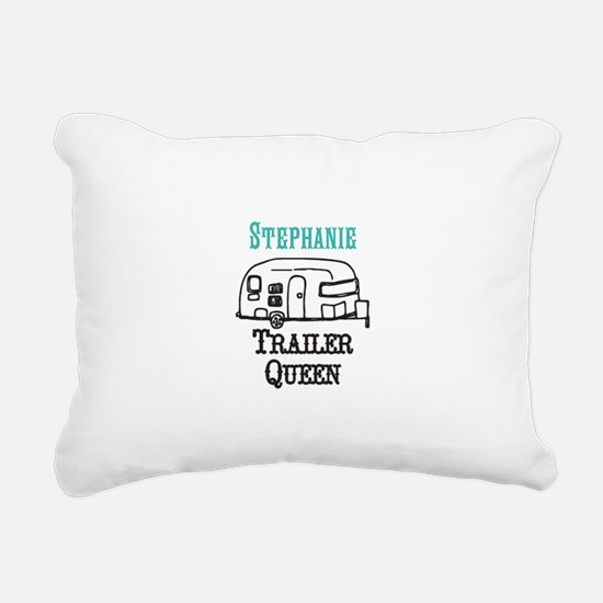 Custom Trailer Queen Rectangular Canvas Pillow