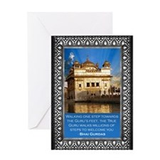 Golden Temple Greeting Card