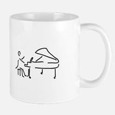 pianist piano player wing Mugs