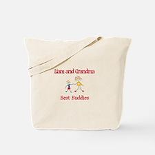 Liam & Grandma - Buddies Tote Bag