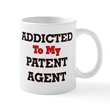 Addicted to my Patent Agent Mugs