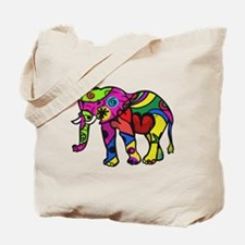 Pretty elephant Tote Bag