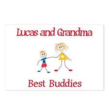 Lucas & Grandma - Buddies Postcards (Package of 8)