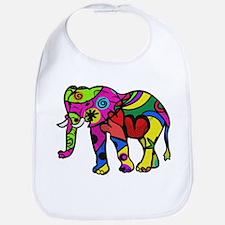 Cute Mens elephant Bib