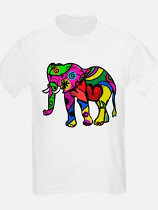 Cute Mens elephant T-Shirt