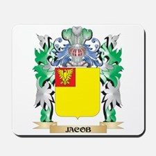 Jacob Coat of Arms - Family Crest Mousepad