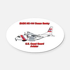 EADS HC-144 Ocean Sentry Oval Car Magnet
