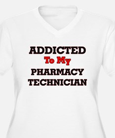 Addicted to my Pharmacy Technici Plus Size T-Shirt