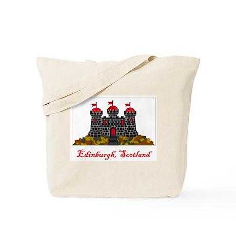 Edinburgh Scotland Flag Tote Bag