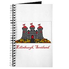 Edinburgh Scotland Flag Journal