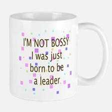 Born To Be A Leader Mugs
