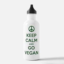 Cute Meat is murder Water Bottle