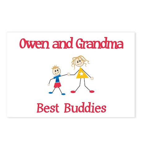 Owen & Grandma - Buddies Postcards (Package of 8)
