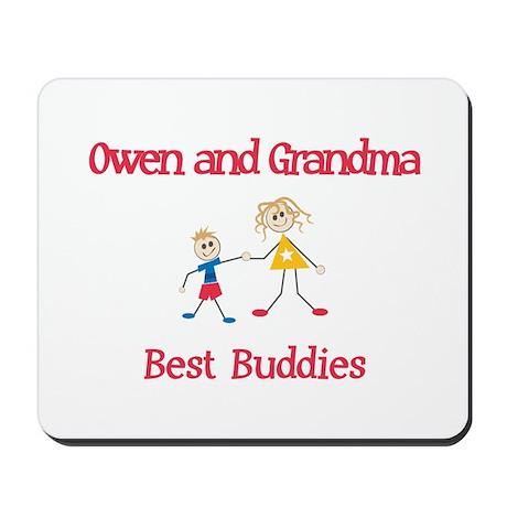 Owen & Grandma - Buddies Mousepad