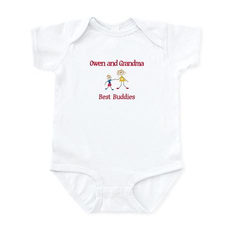 Owen & Grandma - Buddies Infant Bodysuit