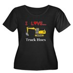 I Love T Women's Plus Size Scoop Neck Dark T-Shirt