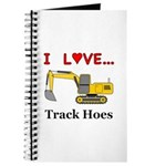 I Love Track Hoes Journal
