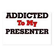 Addicted to my Presenter Postcards (Package of 8)