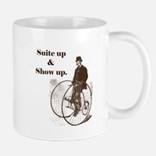 Suite Up and Show Up AA Mug