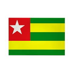 Togo Rectangle Magnet (10 pack)