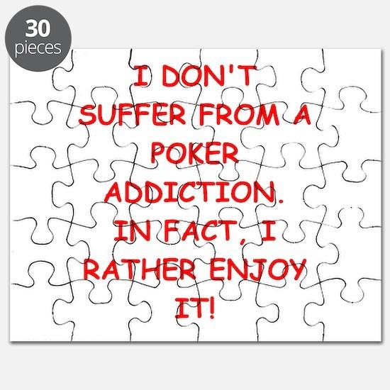 poker joke Puzzle
