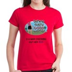 Behind Every Woman Women's Red T-Shirt