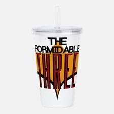 Formidable Three Logo Acrylic Double-wall Tumbler
