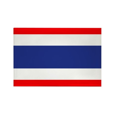 Thailand Rectangle Magnet (10 pack)