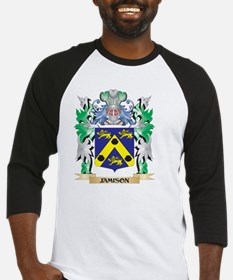Jamison Coat of Arms - Family Cres Baseball Jersey