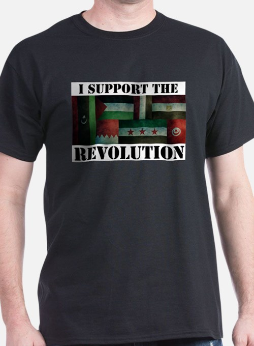 I Support the Arab Revolution Tee T-Shirt