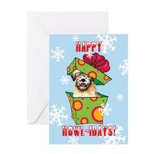 Holiday Wheaten Greeting Card