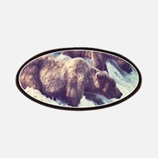 Bears Fishing Patch