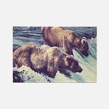 Bears Fishing Magnets