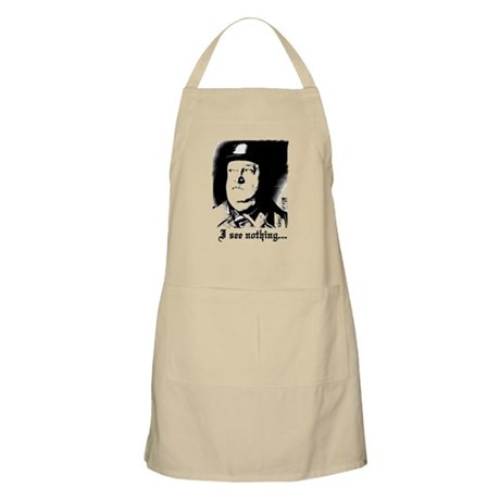 SGT> SCHULTZ I see nothing BBQ Apron