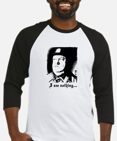 SGT> SCHULTZ I see nothing Baseball Jersey
