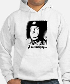 SGT> SCHULTZ I see nothing Hoodie