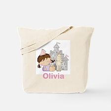 Olivia's Purple Princess Tote Bag