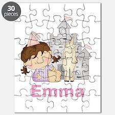 Emma's Purple Princess Puzzle