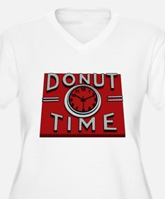 Donut Time Plus Size T-Shirt