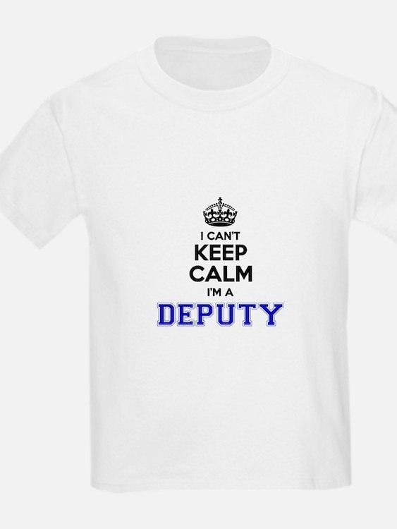DEPUTY I cant keeep calm T-Shirt