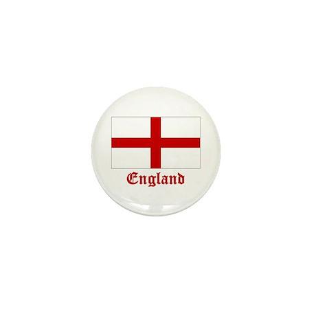 England Flag Mini Button (100 pack)