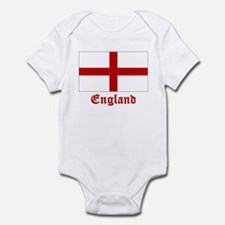 England Flag Infant Bodysuit